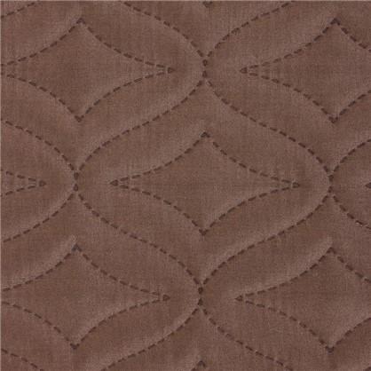 Покрывало стеганое Melissa 200х220 см цвет бежево-коричневый