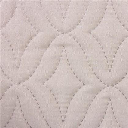 Купить Покрывало стеганое Melissa 200х220 см цвет серо-белый дешевле