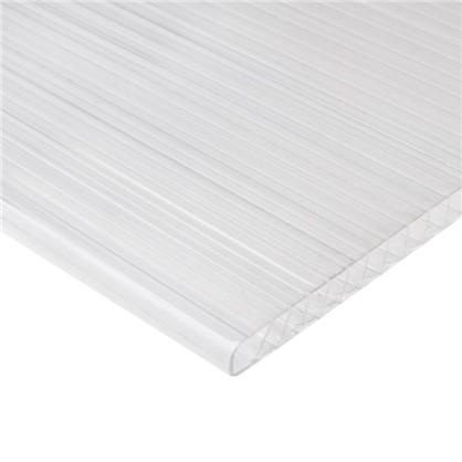 Поликарбонат сотовый Actual 4 мм лист 2.1x6 м (0.6 кг/м2)