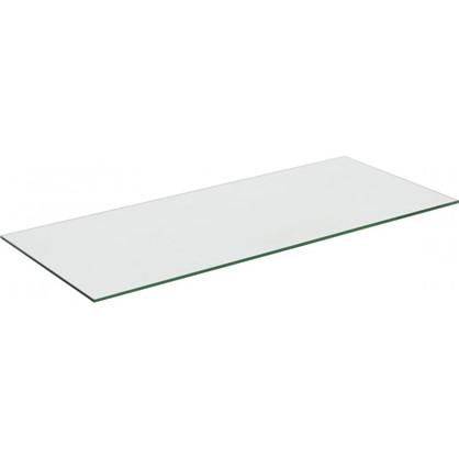 Полка 75.8x0.6x32 стекло цвет прозрачный