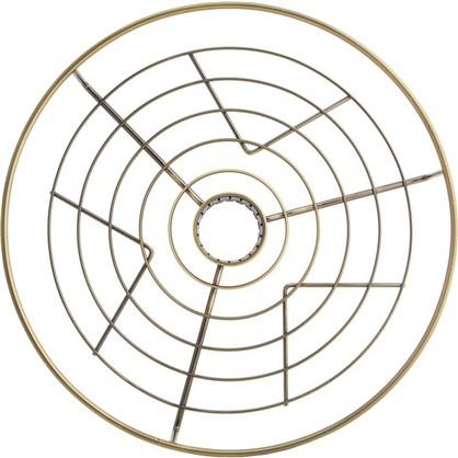 Полка центральная 350 мм цвет бронза