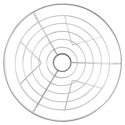 Полка центральная 350 мм цвет хром