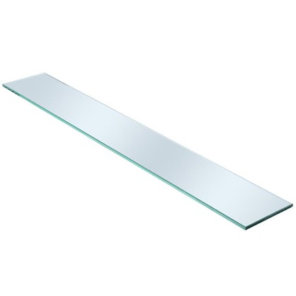 Полка для ванной комнаты 60х12 см стекло