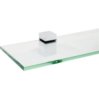 Купить Полка для ванной комнаты 70х12 см стекло дешевле