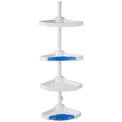 Полка для ванной комнаты Primanova четырёхъярусная угловая