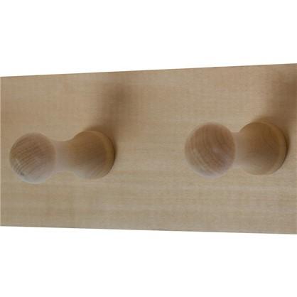 Полка для ванной комнаты с шестью крючками