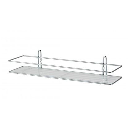 Купить Полка для ванной комнаты Swensa SWR-021 одноярусная металл дешевле
