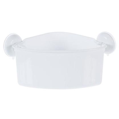 Купить Полка для ванной комнаты Вакуум угловая дешевле