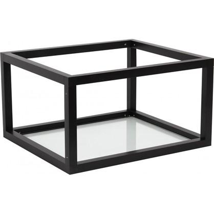 Купить Полка-каркас для стеллажа 22х35х40 см алюминий/стекло дешевле