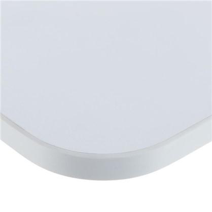 Полка мебельная с закругленными углами 800x250x16 мм ЛДСП белый