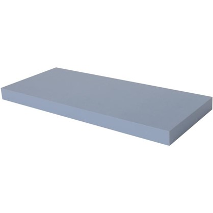 Полка прямоугольная 60х60 см МДФ сталь цвет голубой цена