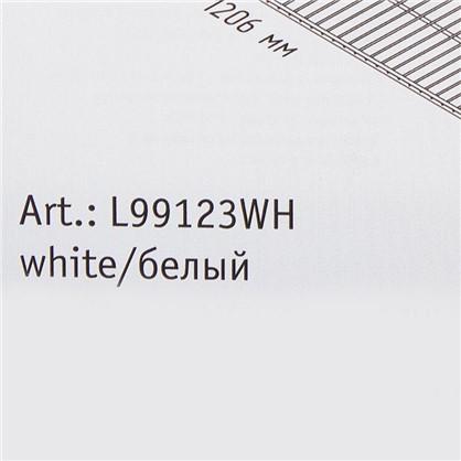 Полка сетчатая Larvij 1203х306 мм цвет белый