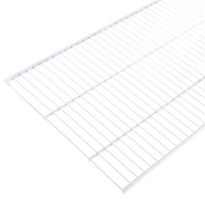 Купить Полка сетчатая Larvij 1203х406 мм цвет белый дешевле