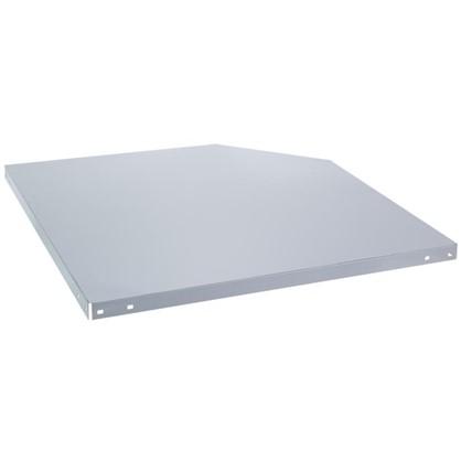 Полка угловая для стеллажа Everest 400 мм 150 кг металл 1 шт. цена