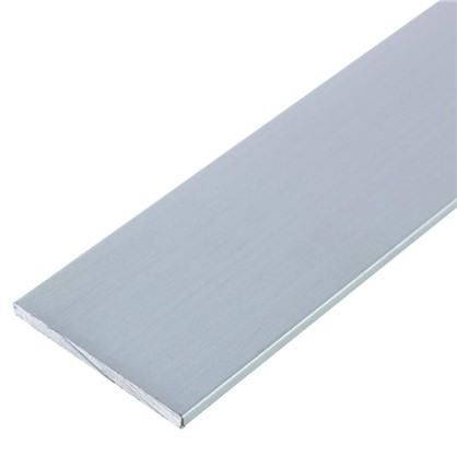 Полоса алюминиевая 25х2 мм 2 м цвет серебро