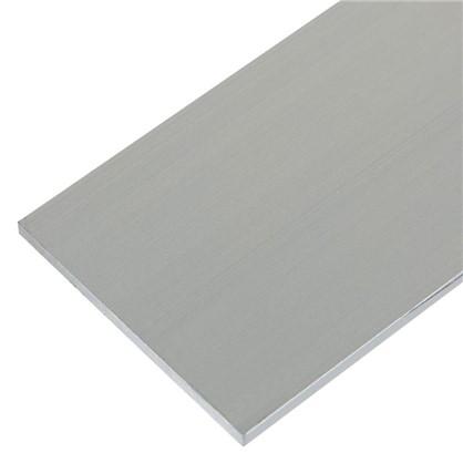 Полоса алюминиевая 30х2 мм 1 м цвет серебро