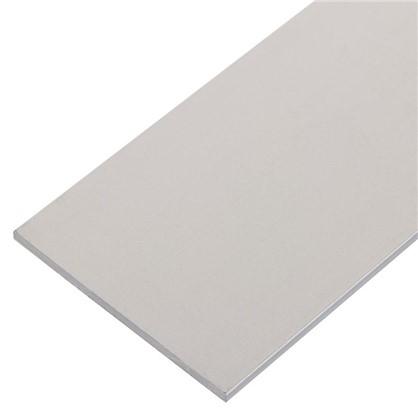 Полоса алюминиевая 40х2 мм 1 м цвет серебро