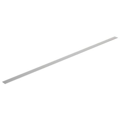 Купить Полоса алюминиевая 40х2 мм 2 м цвет серебро дешевле