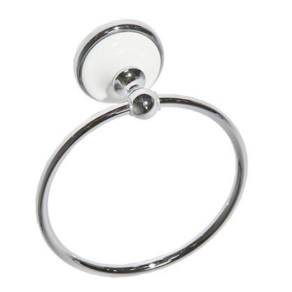Полотенцедержатель Aster кольцо цвет хром