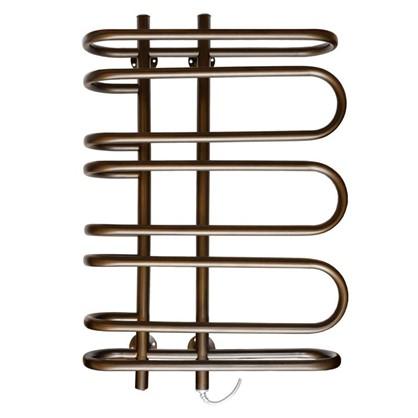 Полотенцесушитель электрический Гамма 45х70 см цвет бронза