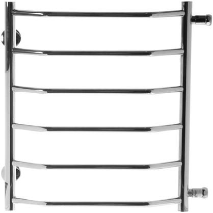 Купить Полотенцесушитель водяной 50х60 см с боковым подключением 50 см нержавеющая сталь дешевле