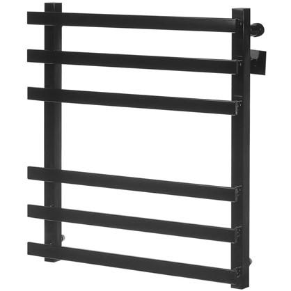 Купить Полотенцесушитель водяной М81 60x50 см нержавеющая сталь цвет чёрный дешевле