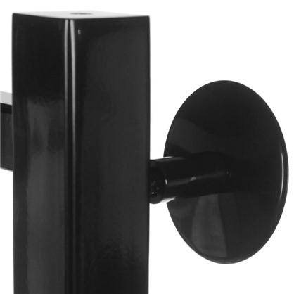 Купить Полотенцесушитель водяной ПК ВПС-50 800x500 мм 5 трубок 20x20 мм цвет чёрный недорого