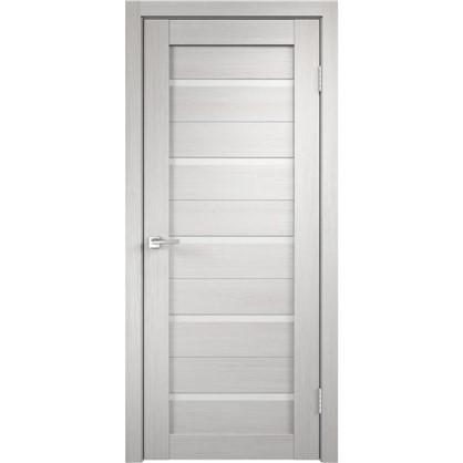 Полотно дверное Дюплекс 2000x600 мм цвет белёный дуб