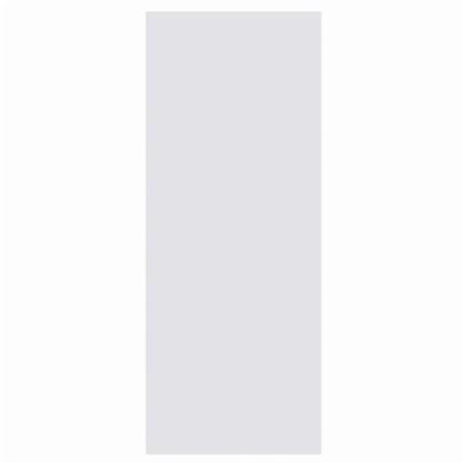 Полотно дверное глухое 60x200 см ламинация цвет белый