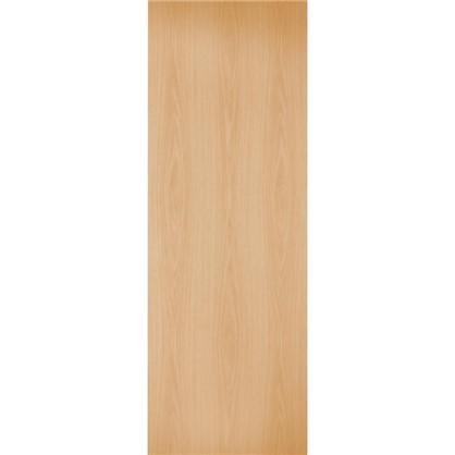 Полотно дверное глухое 60x200 см ламинация цвет миланский орех