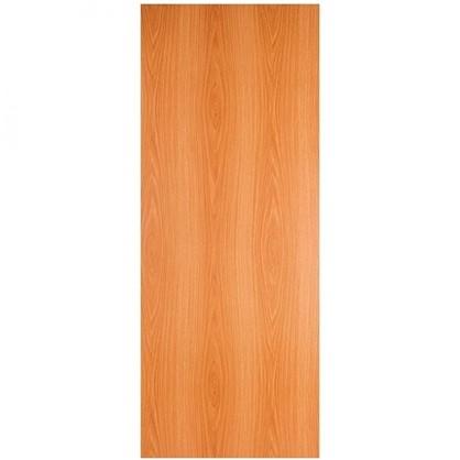 Полотно дверное глухое 90x200 см ламинация цвет миланский орех