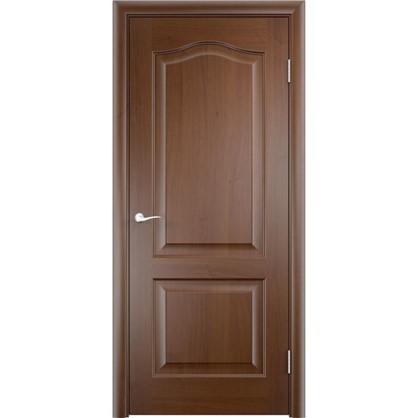 Полотно дверное глухое Антик 70x200 см ПВХ цвет дуб коньяк