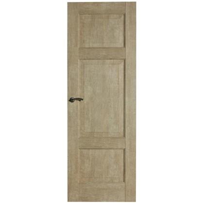 Полотно дверное глухое Антико 200х90 см цвет винтажный дуб