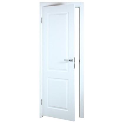 Полотно дверное глухое Австралия 200х60 см цвет белый