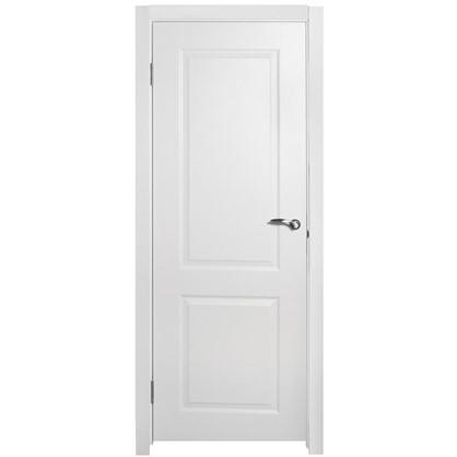 Полотно дверное глухое Австралия 200х90 см цвет белый