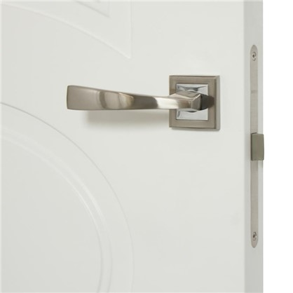 Полотно дверное глухое Дэлия 200х60 см цвет белый