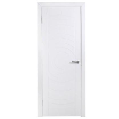 Полотно дверное глухое Галактика 200х80 см цвет белый