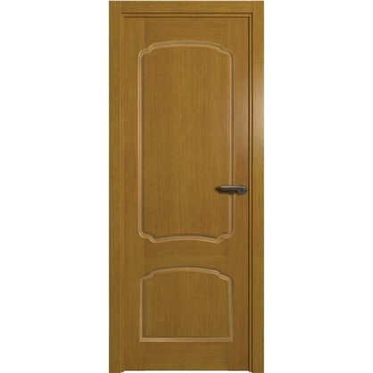 Полотно дверное глухое Helly 70x200 см шпон цвет тонированный дуб