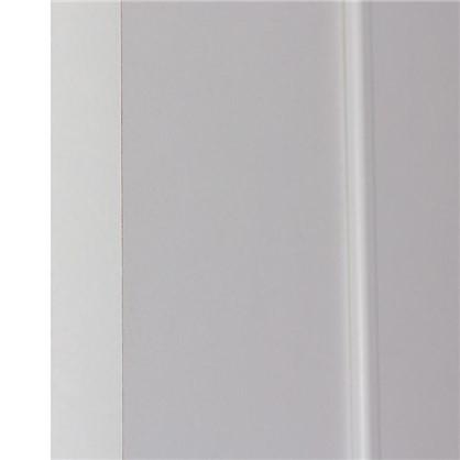 Полотно дверное глухое ламинированное Классика 200х90 см цвет белый