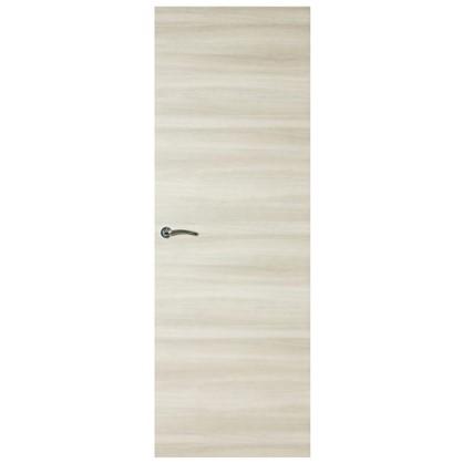 Полотно дверное глухое ламинированное Унико 200x80 см цвет светлый орех