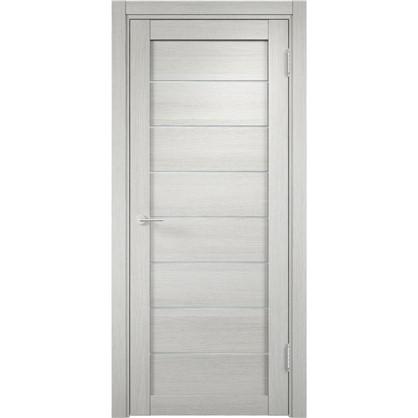 Полотно дверное глухое Мюнхен 60x200 см ламинация цвет слоновая кость 3D