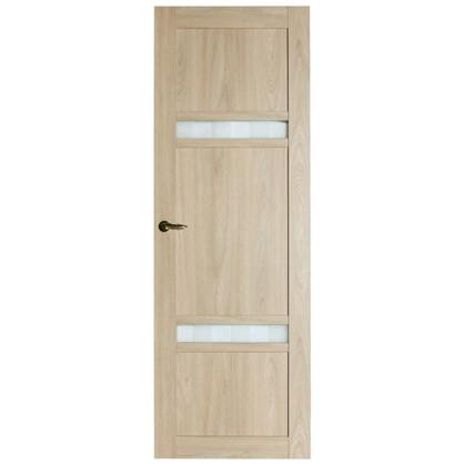 Полотно дверное глухое Риволо 200х60 см цвет натуральный дуб
