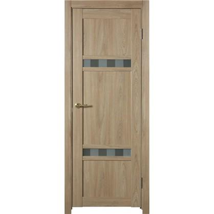 Полотно дверное глухое Риволо 200х90 см цвет натуральный дуб