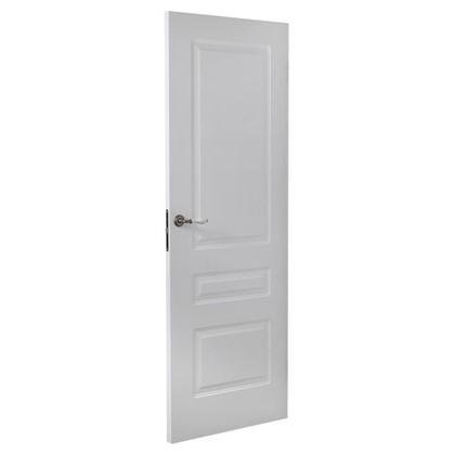Полотно дверное глухое Роялти 200х60 см цвет белый