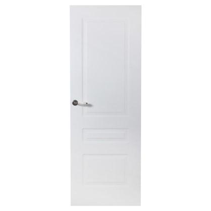 Полотно дверное глухое Роялти 200х80 см цвет белый