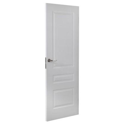 Купить Полотно дверное глухое Роялти 200х90 см цвет белый дешевле