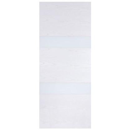 Полотно дверное глухое шпонированное Модерн 200х80 см цвет белый ясень