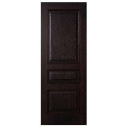 Полотно дверное глухое шпонированное Вельми 200х60 см цвет венге
