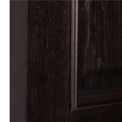 Полотно дверное глухое шпонированное Вельми 200х90 см цвет венге