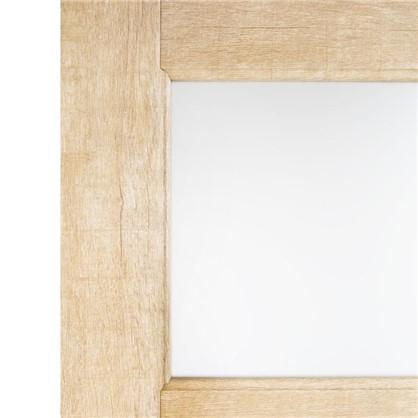 Полотно дверное остеклённое Антико 200х70 см цвет винтажный дуб